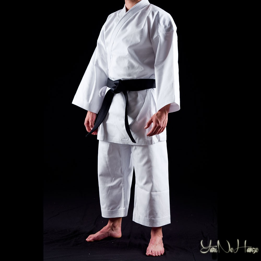 Karate Gi Shuto Okinawa   White heavy karategi - Katana Mart