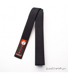 Belt for karate and judo BLACK DELUXE | Karate Judo Obi