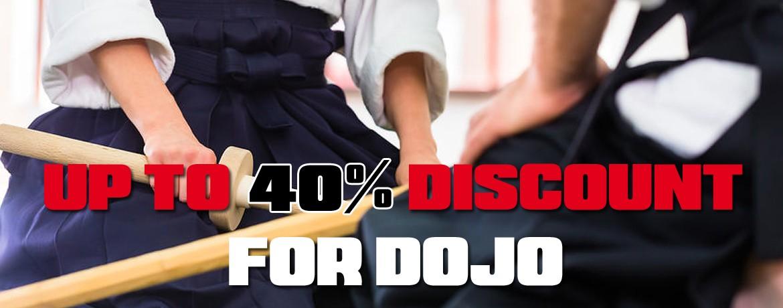 DISCOUNTS FOR DOJO