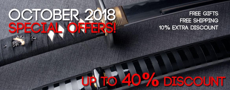 october 40% discount katanamart